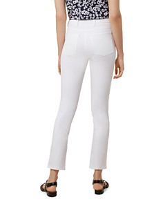 HOBBS LONDON - Amanda Ankle Straight-Leg Jeans in White