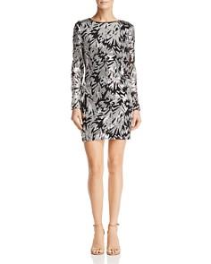 AQUA - Embellished Mini Dress - 100% Exclusive