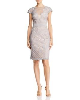 Tadashi Shoji - Cap-Sleeve Lace Dress