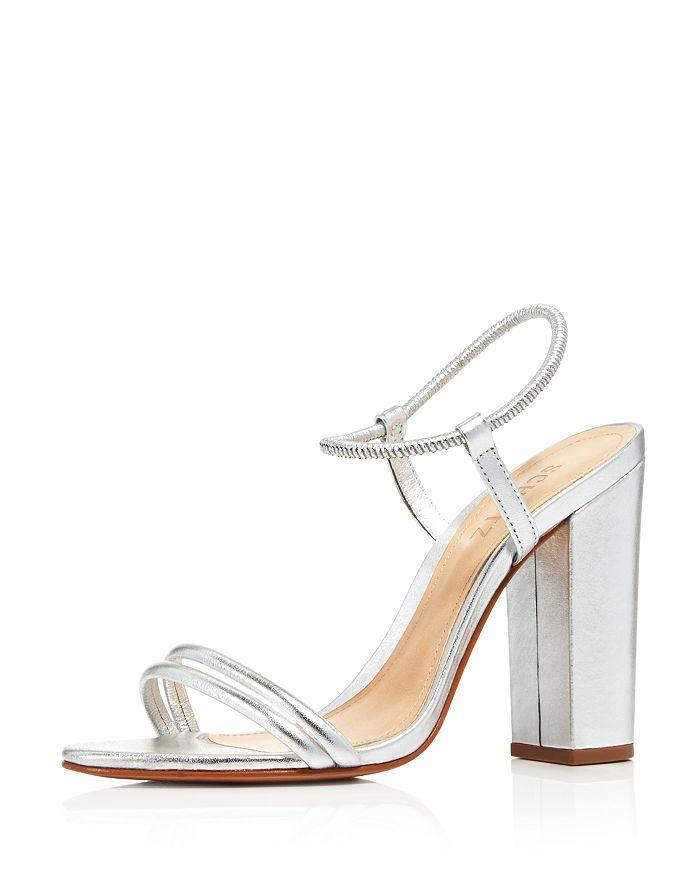 SCHUTZ - Women's Pincesa Metallic High-Heel Sandals