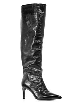 rag & bone - Women's Beha Pointed Toe Knee-High Leather Boots