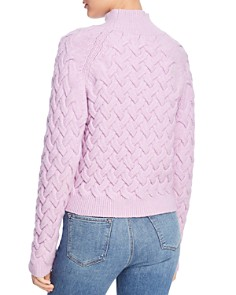 The East Order - Adele Cable-Knit Sweater