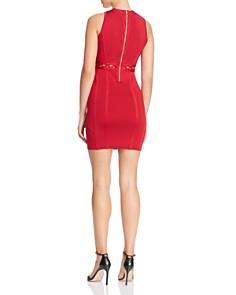 GUESS - Mirage Cutout Lace-Up Body-Con Dress
