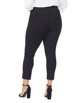 NYDJ Plus - Seamed Ponte Ankle Pants