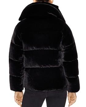 Sandro - Atenea Velvet Puffer Coat