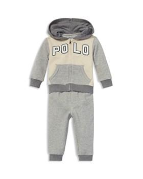Ralph Lauren - Boys' Terry Hoodie & Jogger Pants Set - Baby