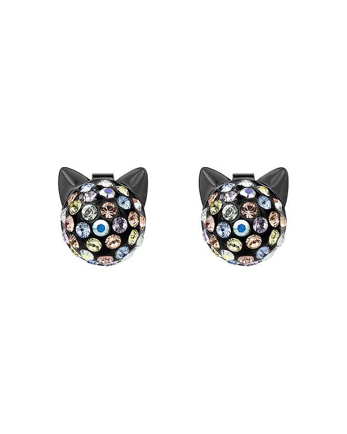 KARL LAGERFELD Paris - Crystal Choupette Earrings