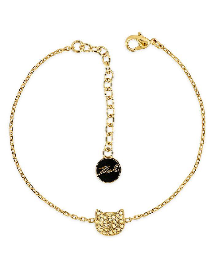 KARL LAGERFELD Paris - Silhouette Choupette Bracelet