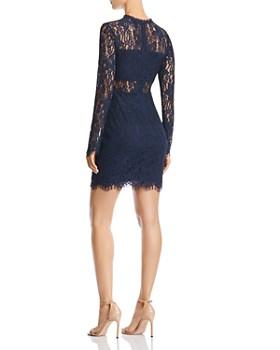 AQUA - Lace Illusion Dress - 100% Exclusive