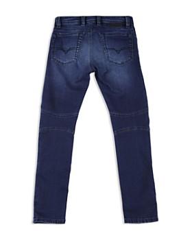 Diesel - Boys' Bakari Skinny Moto Jeans - Big Kid