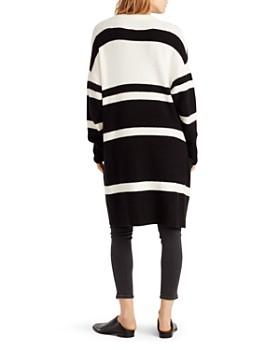 50e4c62d4fab ... Ella Moss - Kimberly Color-Blocked Long-Line Cardigan