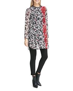 Calvin Klein - Mixed Floral Print Tunic Top