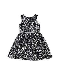 Pippa & Julie - Girls' Metallic Star-Print Dress - Baby