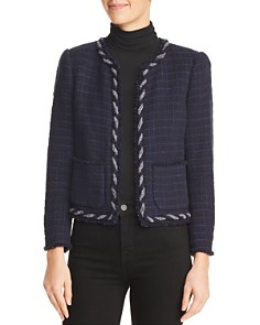 Rebecca Taylor - Crochet Tweed Jacket