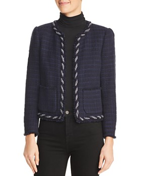 Rebecca Taylor - Crochet Tweed Jacket