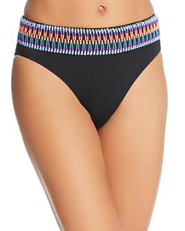 Peixoto - Zoni 2 High-Waist Bikini Bottom