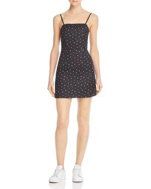 NIGHTWALKER Samantha Dot Dress in Multi Polka
