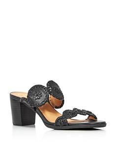 Jack Rogers - Women's Lorelai Block Heel Leather Sandals