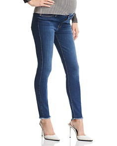 7 For All Mankind - Maternity Ankle Skinny Jeans in Rei