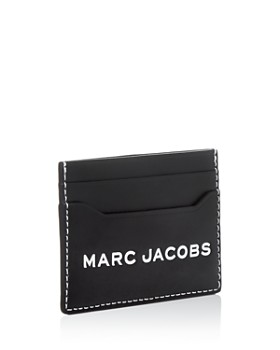 MARC JACOBS - Textured Tag Card Case