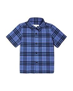 Burberry - Boys' Sammi Check Shirt - Little Kid, Big Kid