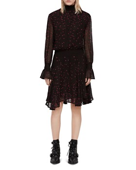 ALLSAINTS - Ria Nala Embroidered Dress