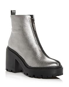 Kendall + Kylie - Women's Jace Block-Heel Platform Booties