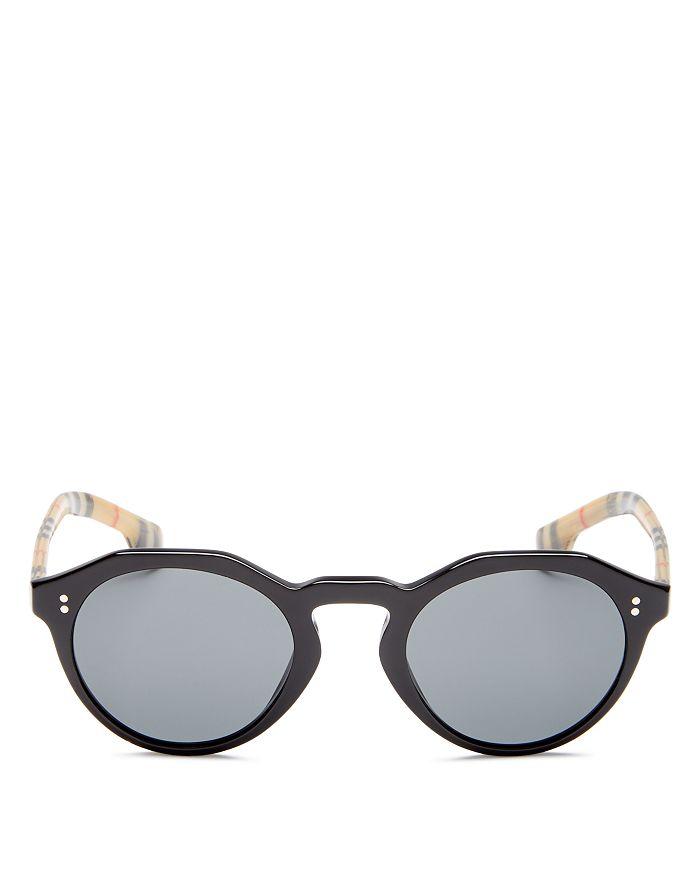 97c9354ccd Burberry - Men s Retro Round Sunglasses