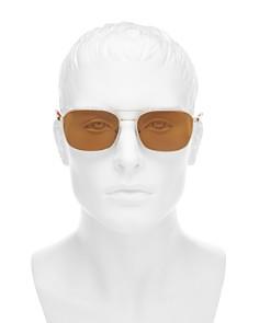 Persol - Men's Sartoria Brow Bar Aviator Sunglasses, 51mm