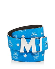 MCM - Visetos Logo Monogarm Reversible Belt
