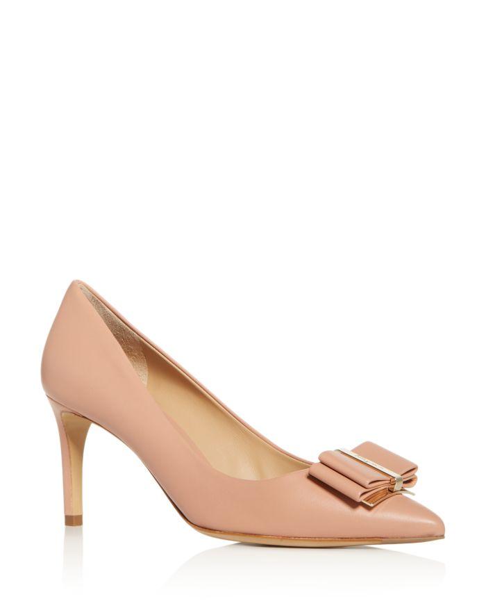 Salvatore Ferragamo Women's Zeri Pointed-Toe Pumps  | Bloomingdale's