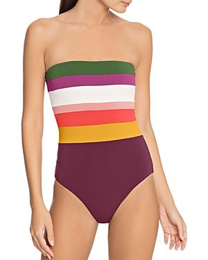 Robin Piccone Suzie Bandeau One Piece Swimsuit