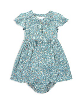 bac74962507c Ralph Lauren - Girls  Shirred Floral Dress   Bloomers Set - Baby ...