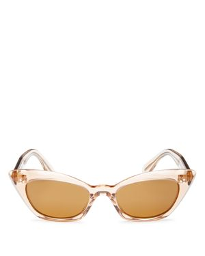 Oliver Peoples Women's Bianka Cat Eye Sunglasses, 51mm