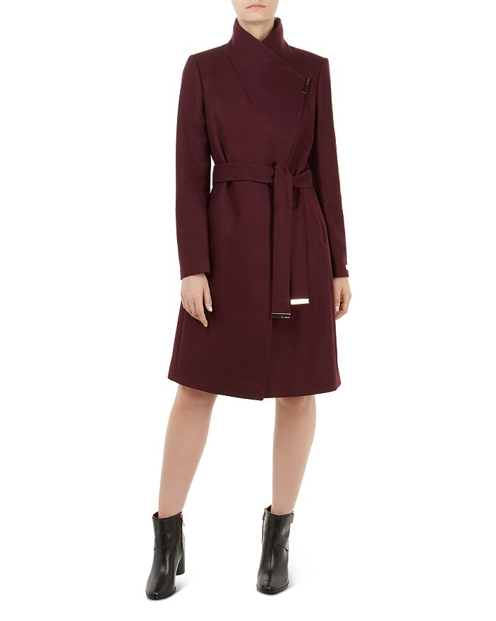eb7072f33 Ted Baker - Sandra Belted Wrap Coat