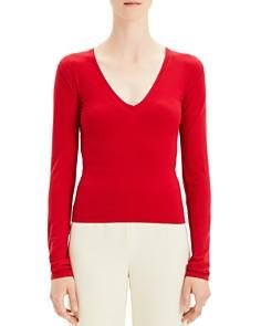 Theory - Refine Merino Wool V-Neck Sweater