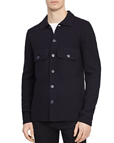 REISS - Roe Felted Wool Overshirt