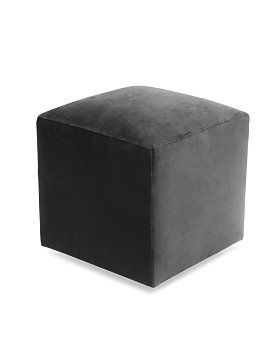 Bloomingdale's Artisan Collection - Jax Velvet Cube Ottoman