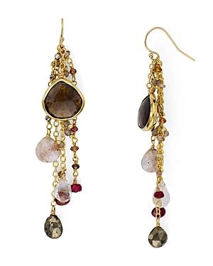 Ela Rae Multi-Chain Drop Earrings in 14K Gold-Plated Sterling Silver