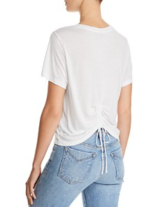 Hudson - Ruched-Back Tee
