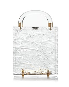 L'Afshar - Leon Clear Box Clutch