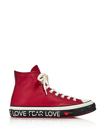 d4a17350eece0d Converse Women s Chuck Taylor All Star 70 Leather High Top Sneakers ...