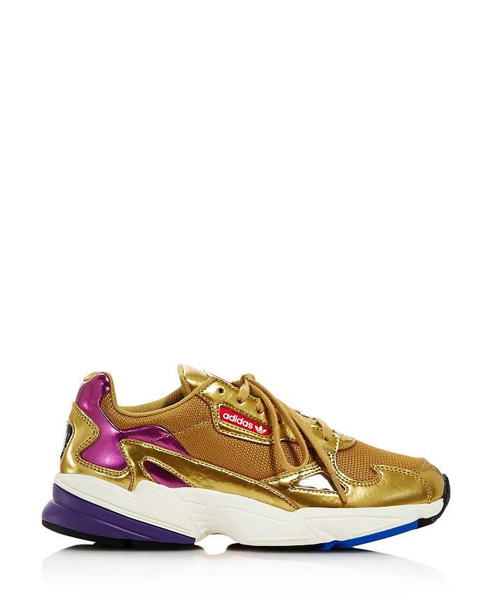 4a6e155be9e Adidas - Women s Falcon Metallic Lace-Up Sneakers