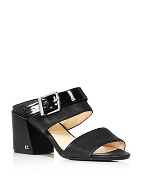 Kenneth Cole - Women's Hannon 2 Way Leather & Patent Leather Sandals