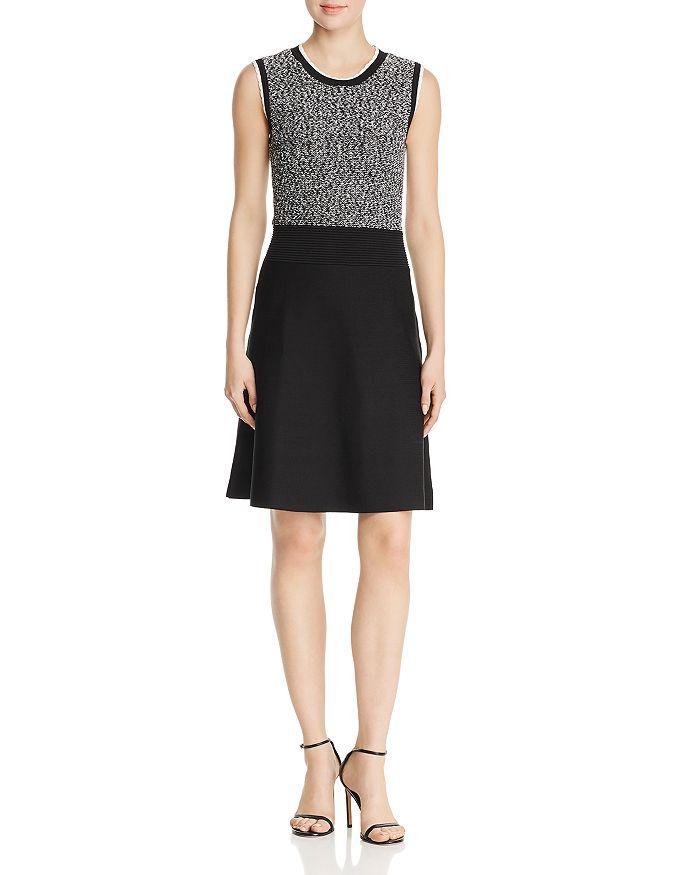 KARL LAGERFELD Paris - Sleeveless Sweater Dress