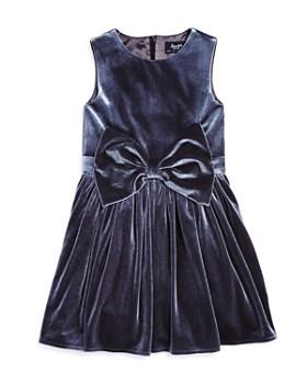 Bardot Junior - Girls' Velvet Bow Dress - Little Kid