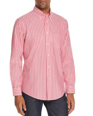 Brooks Brothers Striped Classic Fit Button-Down Shirt