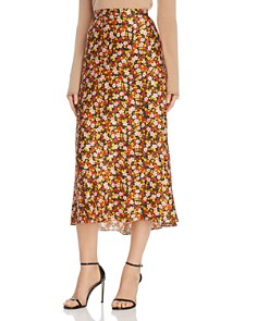 Bec & Bridge - New Romantics SilkMidi Skirt