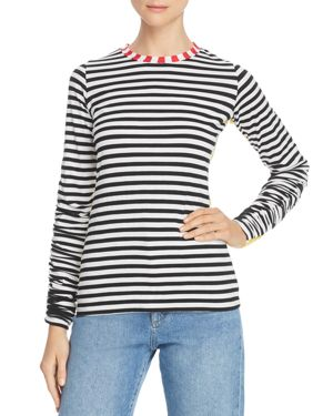 Preen Line Uri Striped Knit Top