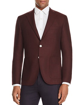 BOSS - Janson Basket-Weave Solid Regular Fit Sport Coat